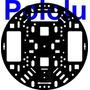Chasis De Plastico Para Tu Robot, Motores, Electronica,