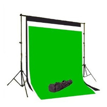 Estudio Fotografico Kit Fotografia Portafondos 3 Fondos Vv4