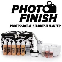 Photo Finish Airbrush Profesional Personal Kit Completo