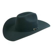 Gorra Lucky 10x Sombrero Occidental Carbón De Leña, 6 3/4