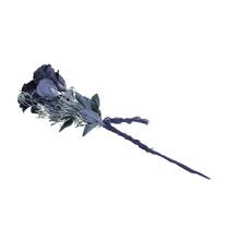 Decoración De Halloween - Dead Ghost Flores Negro Gris