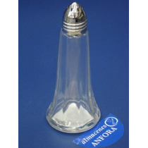 Cristaleria Salero C/tapa Metal 35gm Mod.: 5437 Mrc.: Crisa