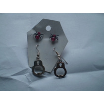 Aretes Dark-punk-rock- Accesorios Rock