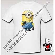 Playera Minions Mi Villano Favorito Sp0