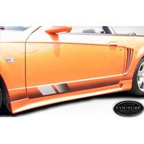 Estribos Mustang Saleen En Fibradevidrio Flexible