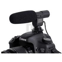 Microfono Pro Stereo Dv Canon Nikon !!! Envio Gratis !!! Hm4