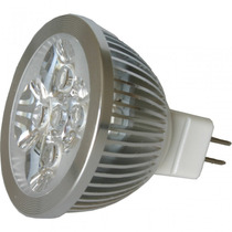 Lampara Led Spot Foco 8w Mr16 12v Blanco Calido-frio Vmj