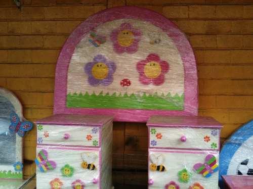 Recamara infantil ni o ni a princesa flores lagunilla for Recamaras para ninos mexico df
