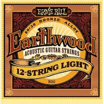Ernie Ball Enc. Guit. Eball Earthwood 12 Cdas Mod:2010