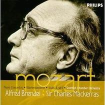 Piano Alfred Brendel - Mozart Conciertos Nos 20 Y 24 Cd Bfn