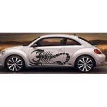Sticker Escorpion Vinil Tuning Vocho, Chevy Atos Betlee