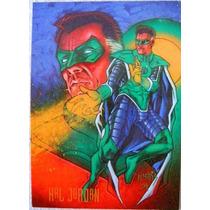 Parallax Hal Jordan / Dc Comics Pepsi Cards 48 / Tarjetas
