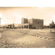 Lienzo Tela Fotografía Estación San Luis Potosí 1897 50 X 67