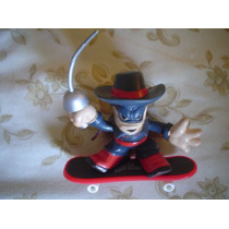 Figura Zorro Y Patineta Tech Deck