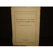 Aquiles Elorduy, Una Canción De Tata Nacho Y Unos Versos De
