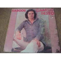 Disco Acetato De Camilo Sesto Rasgos Y Superexitos Vol.22