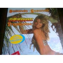 Disco Acetato De Bailando Y Gozando Con 16 Exitos Tropicales