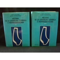Emiliano Diez-echarri Y José M., Historia De La Literatura