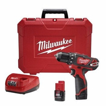 Kit Taladro Destornillador Inalambrico Milwaukee M12 De 12v