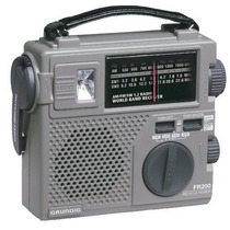 Radio Recargable Grundig Am/fm/sw De Onda Corta Fr200