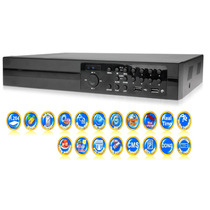 Dvr 8 Canales Video & 2 De Audio