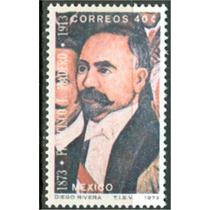Sc 1052 Año 1973 Francisco I Madero Pintura Por Diego Rivera