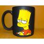 Taza Grabada Bart Simpson