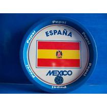 Charola De Metal Pepsi Mexico - España Vintage
