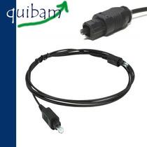 Cable De Fibra Optica 2.1 Metros Audio Digital Toslink