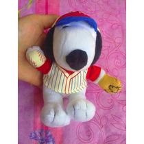 Snoopy De Peluche Vestido De Beisbolista