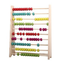 Juguetes Educativos Ábaco De Madera Para Niños Beads Color:
