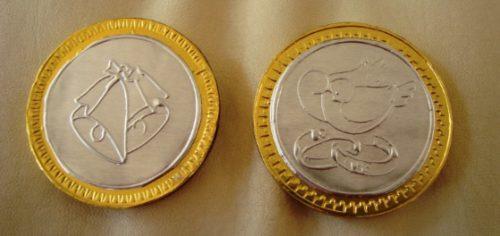 Bolos Para Bautizo Con Monedas.Super 10 Hermosos Decenarios Y 10 Monedas Para Bolo Vv4