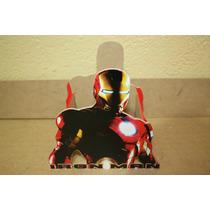 Centro De Mesa De Iron Man Para Cumpleaños Infantiles