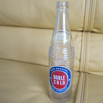 Antigua Botella De Refresco Doble Cola Año 1965