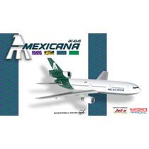 Avión Dc-10 Mexicana De Aviación Aeroméxico Eex