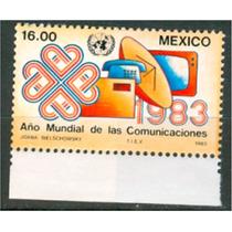 Sc 1310 Año 1983 Año Mundial De Las Comunicaciones