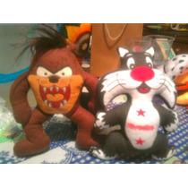 Muñecos De Peluche Varios Bob Esponja,taz,patricio, Etc.