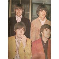 Los Beatles En Revista Mexicana Gigante Impacto D Julio 1975