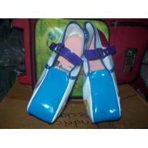 Gcg Zapatos De Payasita Económicos Num. 21 Azul Cielo