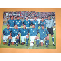 Poster Seleccion Italia Eurocopa 2000