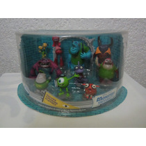 Playset De Figuras De Disney De Monsters Inc University !!!!