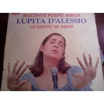 Disco Acetato De Lupita D´alessio En Concierto