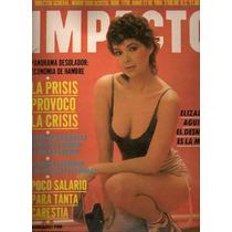 Elizabeth Aguilar Portada Y Reportaje Revista Impacto D 1984