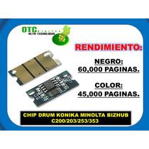 Chip Drum Konika Minolta Bizhub C200 C203 C253 C353