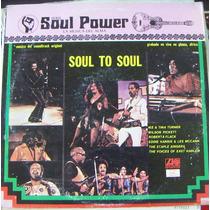 Banda Sonora De Soul To Soul, Lp 12´, Hecho En México