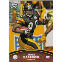 2011 Topps Rising Rookies #94 James Harrison Acereros