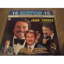 Disco Acetato De 15 Exitos Con Juan Torres Y Su Organo Melod