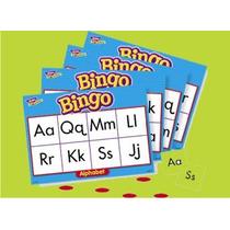 Bingo Lotería Didáctica Del Alfabeto Marca Trend
