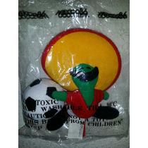 Mascosta Pique Mundial Mexico 86 De18cm 100% Original Nuevo