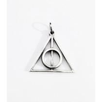 Dije Reliquias De La Muerte Harry Potter Plata .925